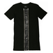 ILL IT - W ZIPPED LEATHER TEE -