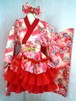 【1点物】着物ドレスセット(ピンク桜)