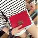 ☆地味にスゴイで大人気☆ 赤 メトロポリス風 ミニショルダーバッグ N353
