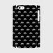 (通販限定)【送料無料】iPhone5/5s/SE_スマホケース モノグラム_ブラック