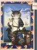 【旅-トラベルログ-】猫のダヤン(わちふぃーるど) ジグソーパズル 01-504 / やのまん