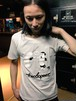 ボクシングTシャツ オフホワイト/Sサイズ