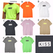 7カラー展開/KISS CELEBRRITY LOVES/Tシャツ