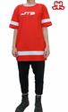 【JTB】 LINEA ロングTシャツ【レッド】【新作】イタリアンウェア【送料無料】《M&W》