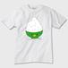 緑担当、緑推し必見! 大盛りごはんくまさん かわいいTシャツ ※トナー熱転写