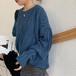 【トップス】新品おすすめ長袖ファッションギャザー飾り無地ニットセーター27301032