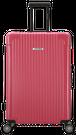 Sサイズ☆ストロベリーピンクSBR・34リットル:超軽量!旅ガールにオススメスーツケース