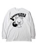 BEGINNING NOTES / BIGビギクマちゃん L/S 白×黒