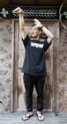 HXB x WOWコラボTシャツ 黒(送料込み)