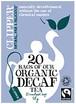 Clipper (クリッパー) オーガニック紅茶 アッサム ブレンド カフェインレス 個装20袋 【DNCL0003】