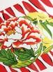 赤♦️リボンの上の芍薬