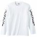 GENSEKI ロングTシャツ(白)