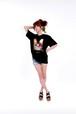 【Tripleredcard LOVE・LOVE-Tシャツ黒・白】