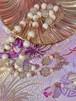 kedakai✴︎桃源郷の贈り物✴︎⭐︎桃色の蕾ロングネックレス