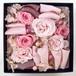 Fran flower★高級プリザーブドローズ「Strawberry milk」