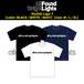 ALL FOUND BRIGHT LIGTHS スタイリッシュロゴTシャツ
