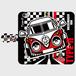 ノスタルジックカー・VW TYPE-II 手帳型スマホケース iPhone6/6s