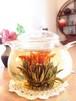 【中国茶・工芸茶】花咲くお茶 キンモクセイ香り「丹桂漂香」10粒