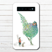 モバイルバッテリー キジ かわいい おしゃれ 桃太郎 iphone スマホ 充電器 タイトル:精霊鳥~鬼退治どうですか?~ 作:嘉村ギミ