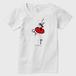 エスメラルダ赤 Tシャツ(レディース)