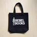 REBEL BOOKSトートバッグ - Black