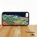立山 強化ガラス iphone Galaxy スマホケース アウトドア 登山 山 ネイビー 紺