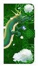 【鏡付き Lサイズ】弁財天龍神 Divine Dragon of Benzaiten 手帳型スマホケース
