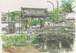 「水彩画ミニアート」京都 知恩院古門