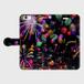(iPhone6Plus/6sPlusサイズ)手帳タイプ:花火の宇宙(KAGAYA)