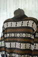 パッと見でわかる秋冬らしい雰囲気アメリカ製フェアアイル柄セーター RankC☆アメカジファッション