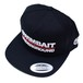 SWIMBAIT UNDERGROUND / 5 PANEL FLAT CAP [BLACK]