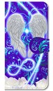 【iPhone5/5s/SE/SE2】 Angel Wings エンジェル・ウィングズ 手帳型スマホケース