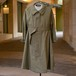 50's FRENCH ARMY MOTORCYCLE  COAT DEADSTOCK - 1