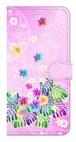 【iPhone7Plus/iPhone8Plus】Sweet Pink Paradise スィート・ピンク・パラダイス 手帳型スマホケース