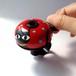 かわいい☆おしゃれな自転車ベル NDR12 黒猫の赤(M)