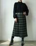 70's Yves Saint Laurent rive gauche check skirt