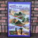 1970s Around Margate And Cliftonville Tea Towel & Frame