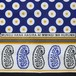 アフリカ布・カンガ(ブルー系)