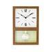 CHAMBRE GLASS PENDULUM CLOCK CLASSIC  【WALNUT】