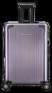 Lサイズ☆富良野紫FRN・90リットル:超軽量!旅ガールにオススメスーツケース