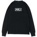 MRJ ロングスリーブTシャツ (ブラック)