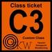 YKW C3 Class ticket