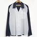 【50% OFF】 GOETZE ゲッツェ モノトーンコンビネーション ワンピースカラーシャツ