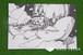 ポストカード(クジラ島とお城)