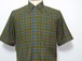 1960's Penneys TOWNCRAFT ブロックチェックBDシャツ ラグランスリーブ 表記(M)