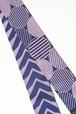 グラースオリジナル博多織小袋帯 丸と矢羽 紫