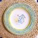 マヨリカ焼き パスタ皿 タツノオトシゴ柄