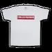 Logo T-shirts[白]
