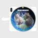 MEOW UNIVERSE・手帳型スマホケース for iPhoneX/XS