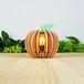 「もも」木製フロアランプ